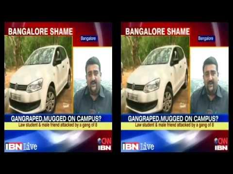 Bangalore- Law student raped inside university campus