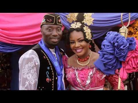 Calabar people rich  Ceremonial attire - wedding & occassion