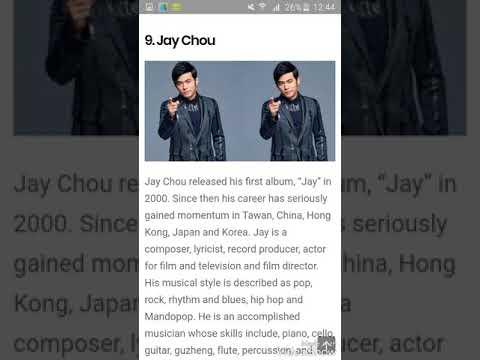 TOP TEN MOST HANDSOME CHINESE ACTOR