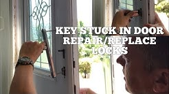 UPVC DOOR LOCK FAULT, Key Won't Remove & it's upside down How To Repair or Replace Locks (Simple)