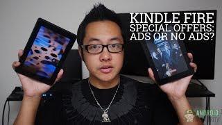 Amazon Kindle: Ads or No Ads?