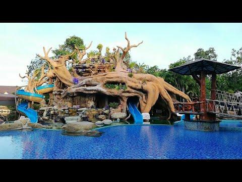 EP2 สวนน้ำ l Water Park ตำนานป่า รีสอร์ท ระยอง l Tam Nan Par Resort l Thailand Resort l Thai vlog