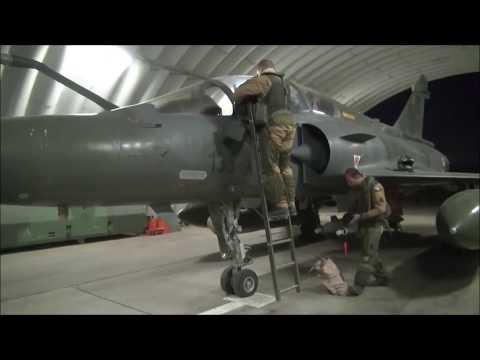 French Mirage 2000D night operations at N'Djamena, Chad