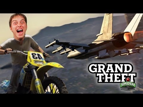 TOP GUNNING B*TCHES (Grand Theft Smosh)