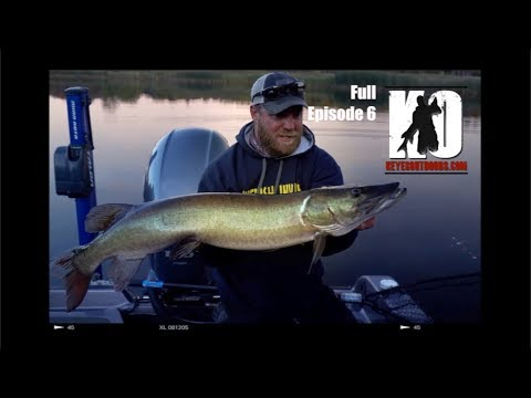 Small Northern Wisconsin Rivers Hold BIG Muskies