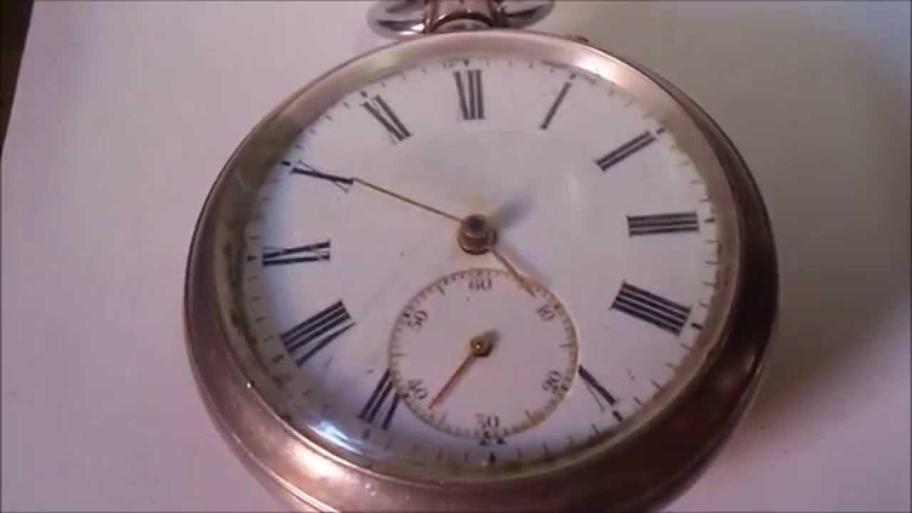 c834b66418f Relógio de bolso antigo funcionando - VENDIDO - YouTube