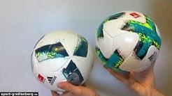 Adidas Torfabrik Spielball und Adidas Torfabrik Trainingsball Unterschiede