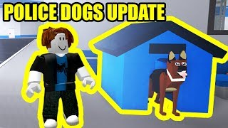 [FULL GUIDE] NEW POLICE DOGS UPDATE | Roblox Mad City Update and Codes