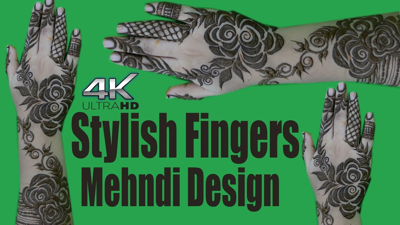 Stylish fingers mehndi designs step by step mehndi tutorials 4k stylish fingers mehndi designs step by step mehndi tutorials 4k ultra hd video baditri Images