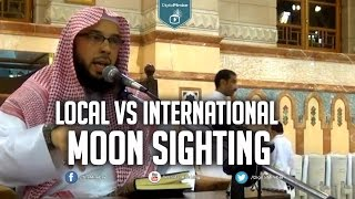 Local vs International Moon Sighting - Tahir Wyatt (Masjid Nabawi)