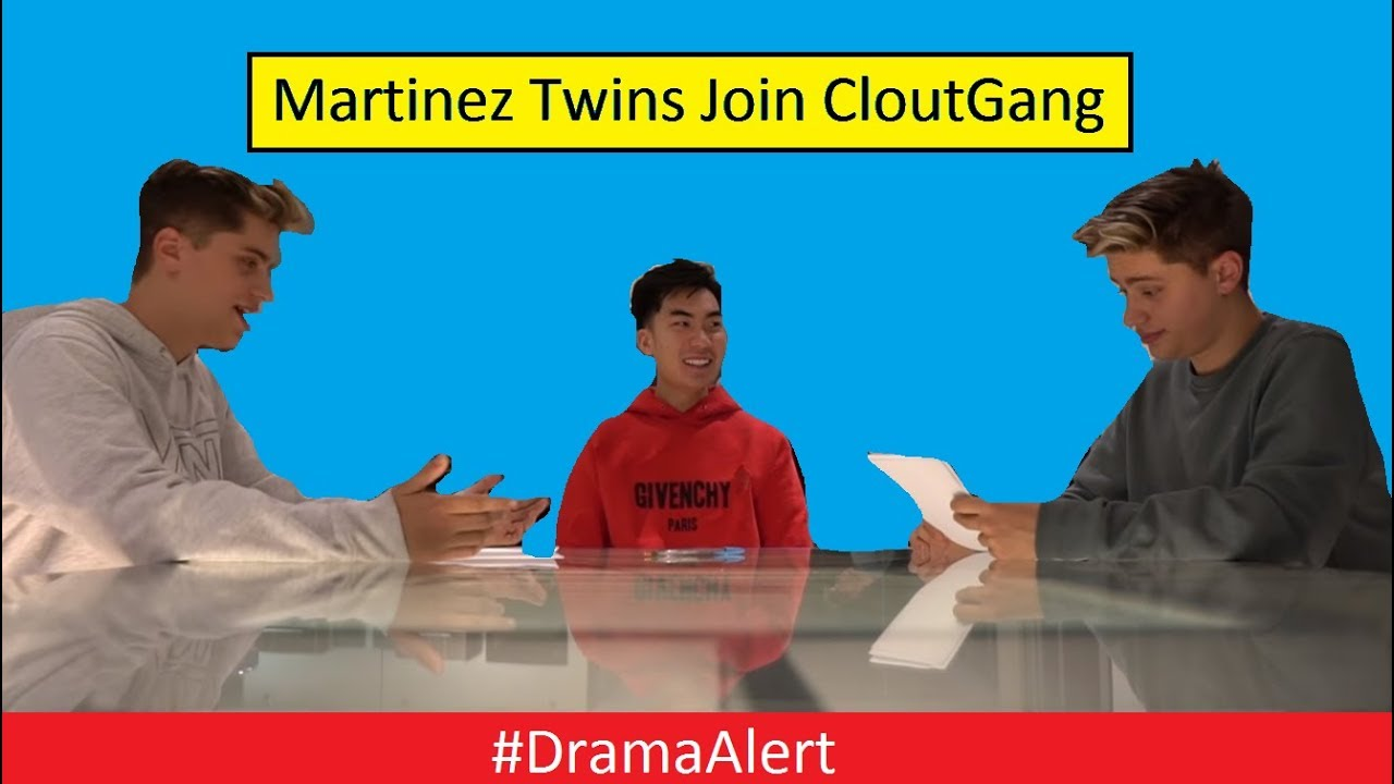 Ricegum has Martinez Twins join Cloutgang DramaAlert Jake Paul Pop Shop YouTube Rewind DRAMA