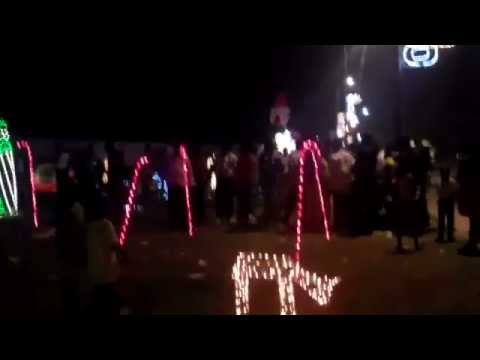 Christmas Night in the City of Uyo-Nigeria
