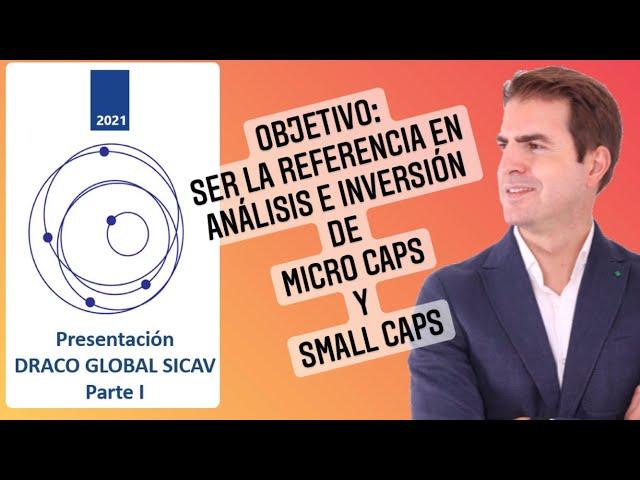 🚀Presentación oficial DRACO GLOBAL SICAV! Chat en directo ! 📣Inversión en Micro Caps TOP