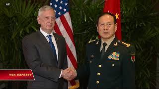 Quan hệ quân sự Mỹ-Trung bị chi phối bởi thương chiến (VOA)
