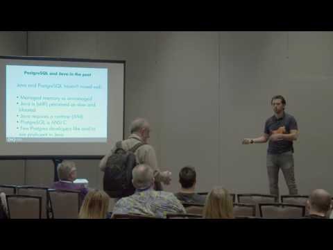 PostgreSQL  Java Past Present and Future