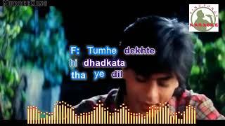 TERA NAAM KENEY KII hindi karaoke for Male singers with lyrics (ORIGINAL TRACK)