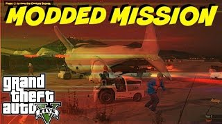 GTA 5 Online  MODDED CAPTURE MISSION ( whale and shark on land in GTA V )