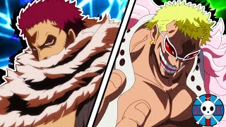 Katakuri vs Doflamingo | One Piece BATTLE!!!