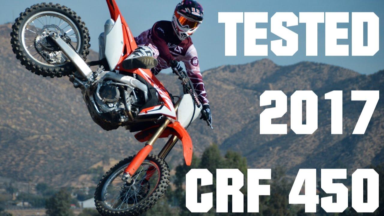 Tested 2017 Honda Crf450r Youtube