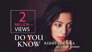 Rishita - Do you Know [] Reply to Diljit Dosanjh Song