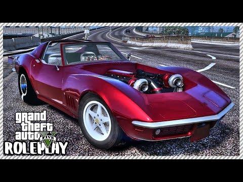 GTA 5 Roleplay - 'BROKEVETTE' FASTEST DRAG CAR | RedlineRP #627