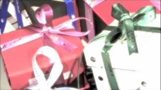nastri personalizzati per confezione regalo