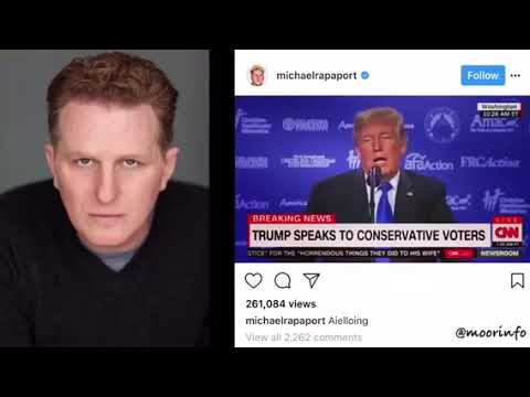 Michael Rapaport Goes In On Donald Trump Over Saying He Met With Virgin Island President