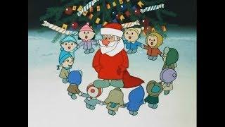 Утренник в детском саду. Танец маленьких Дед Морозов
