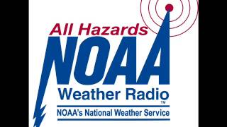 NOAA Weather Radio WWF35 full broadcast cycle