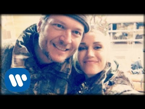 Смотреть клип Blake Shelton Ft. Gwen Stefani - Happy Anywhere
