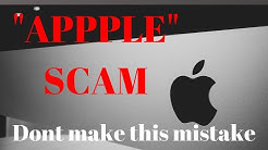 Apple SCAM Email (Your account has been locked!)