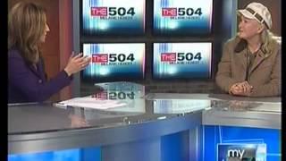 Diane Ladd WWL segment 9 PM