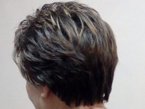 Укладка на короткие волосы № 5