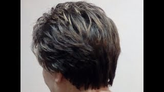 Укладка на короткие волосы 5
