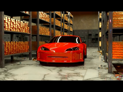 3D Мультики про машинки. Гонки машинок: Машины ловят грабителя. Машинки и гонки - мультфильм 3д