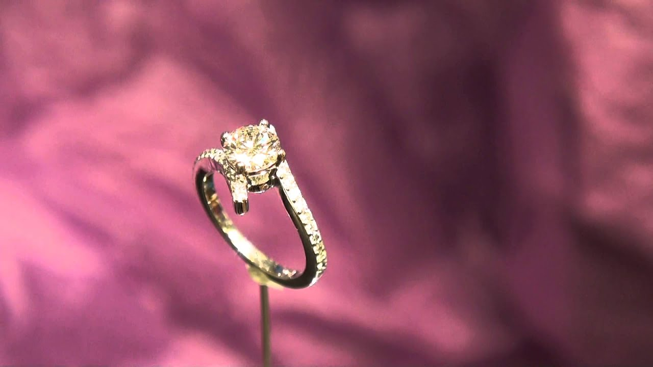 00706-Diamond Engagement Ring - YouTube