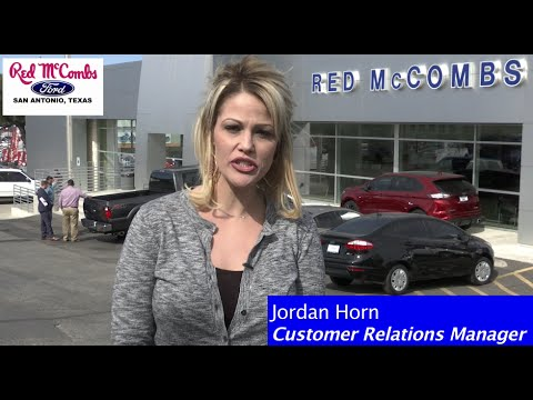 red mccombs ford top performers january 2016 - youtube