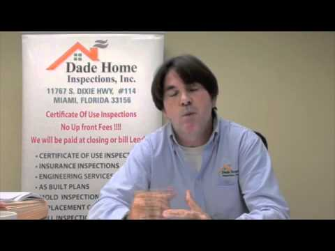 Miami Dade Certificate of Use Inspections