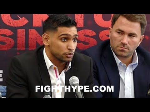 AMIR KHAN THANKS PHIL LO GRECO FOR BEING RESPECTFUL; DECLARES HE'S BETTER THAN EVER BEFORE
