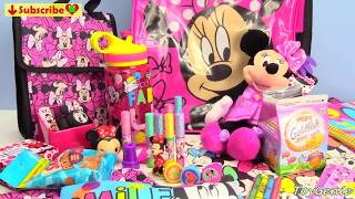 Minnie Mouse Back to School Backpack Surprises