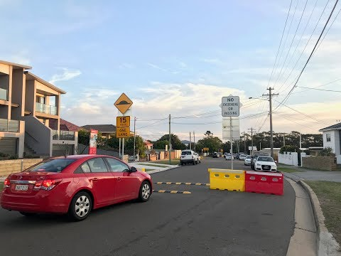 Traffic changes around La Perouse