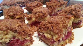 Mountains Of Crumb Topping   Raspberry Crumb Coffee Cake