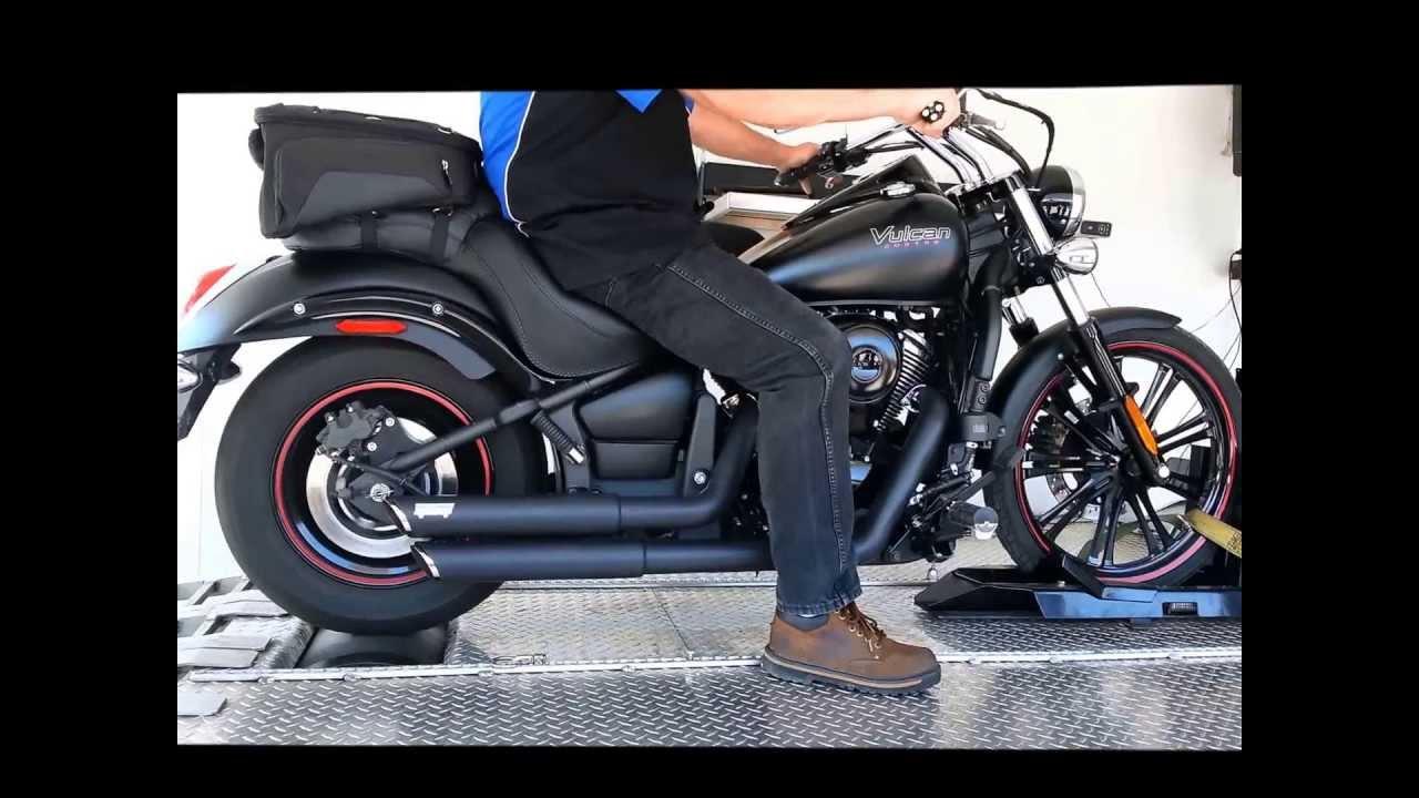 Kawasaki Vulcan 900 Custom on the Dyno - YouTube
