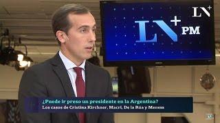 """H.Alconada Mon sobre """"¿Puede ir presa CFK?"""", en """"PM Análisis"""" de J.Miceli - 10/11/16"""