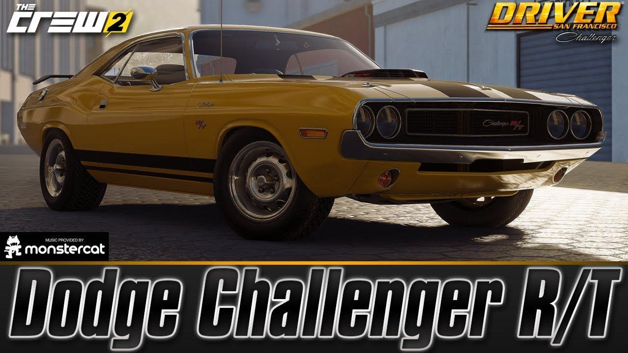 The Crew 2 Dodge Challenger R T Fully Upgraded John Tanner