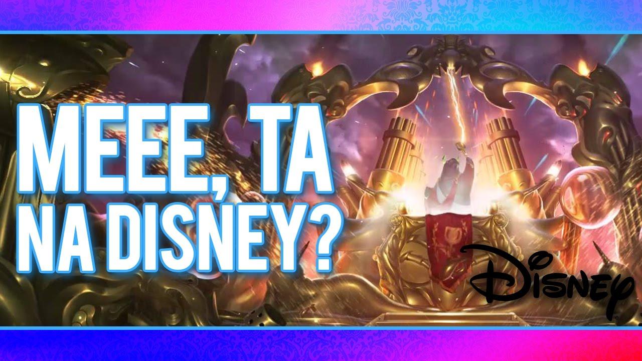 MEEE, TA NA DISNEY? - League of Legends - YouTube