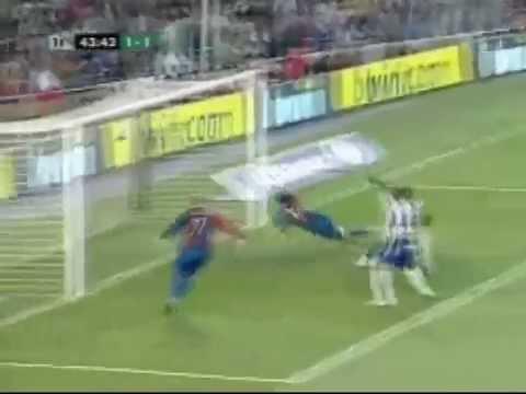 Messi Diving