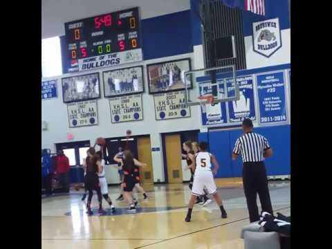 My baby the lefty #5 Nottoway middle school