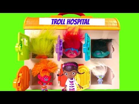 Trolls Poppy Branch Guy Diamondd Need Doc McStuffins Toys