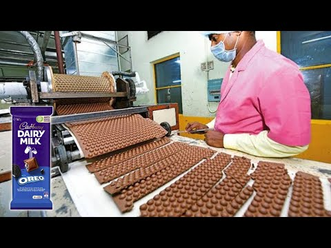How Dairy Milk Chocolate Are Made In Factories | Dairy Milk Manufacturing | Food Processing Machines